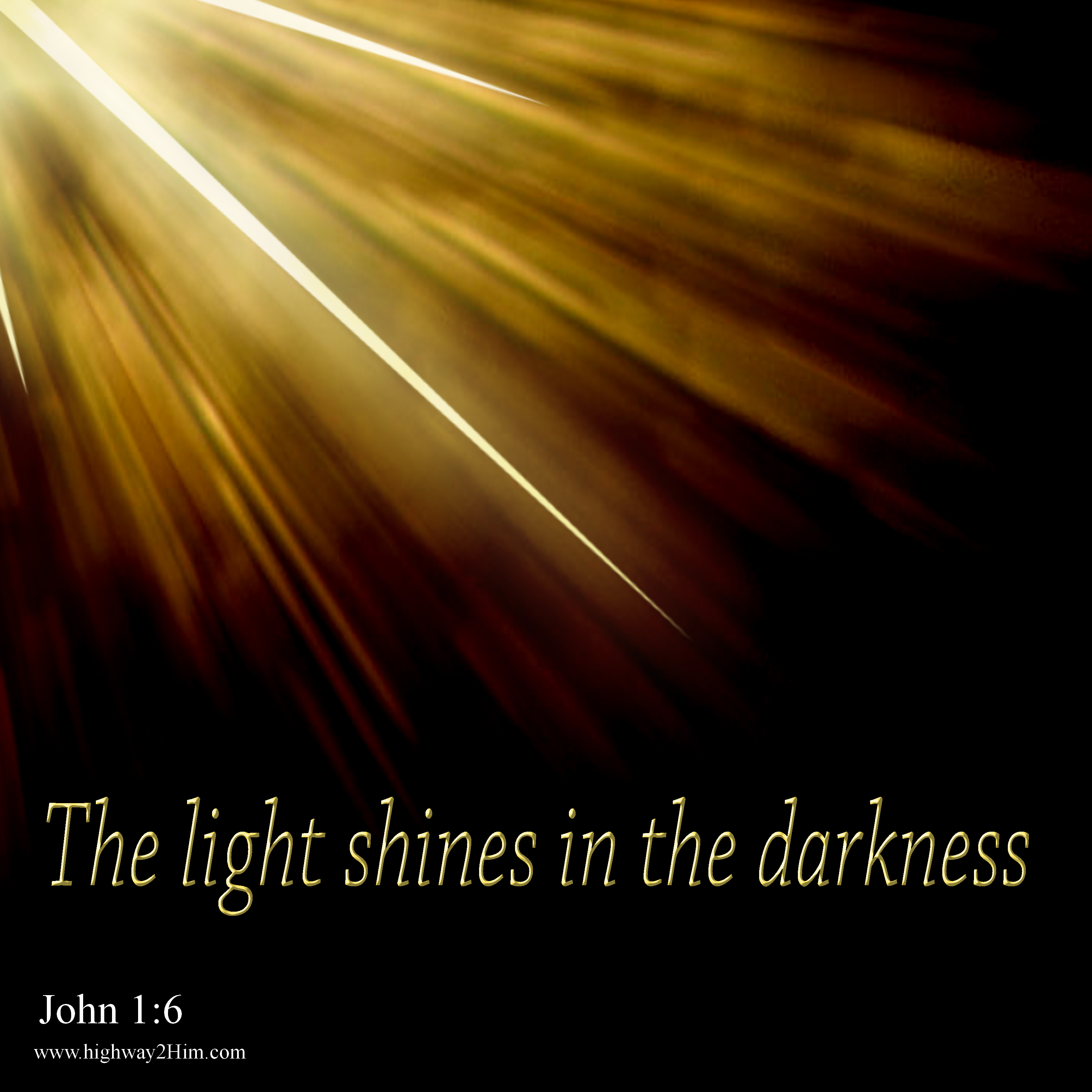 The Light Shines in Darkness